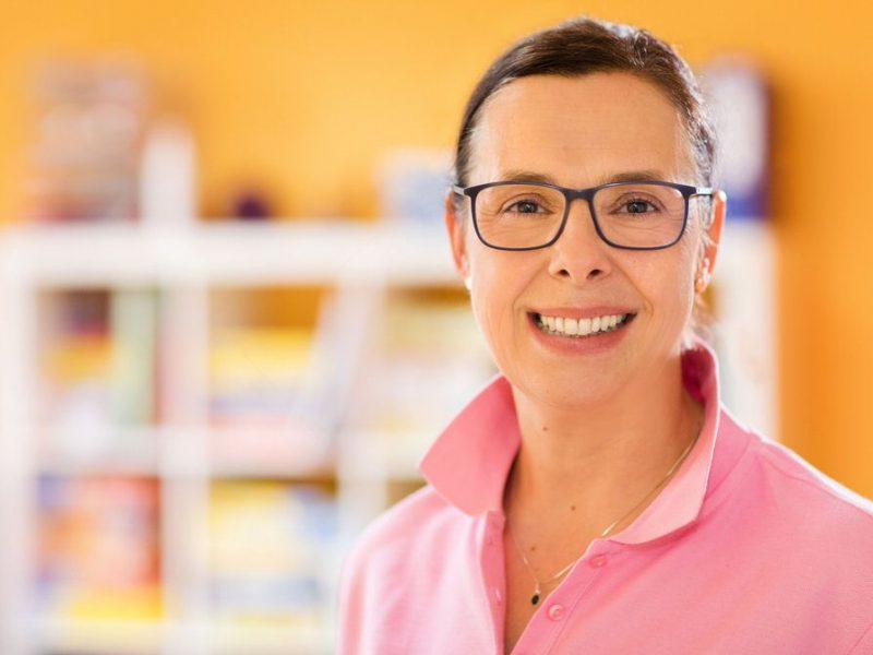 Christine Massek, staatlich anerkannte Logopädin, Inhaberin der Praxis für Logopädie Christine Massek, Panketal